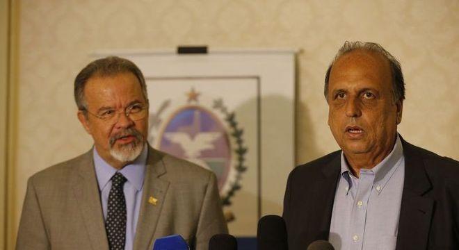 Jungmann e Pezão falaram sobre atuação das Forças Armadas na Segurança do RJ