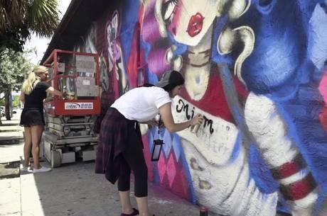 Grafite em Wynwood