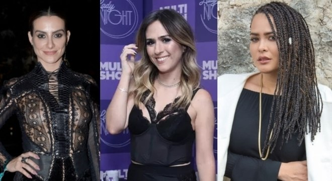 Cleo Pires, Tatá Werneck e Geisy Arruda: papo reto nas redes sociais