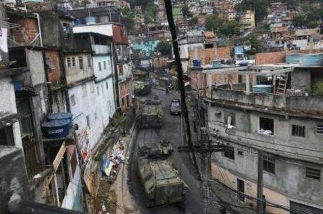 Tropas Federais chegaram à Rocinha nesta sexta (22)