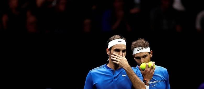 Dois melhores tenistas do mundo não formavam uma parceria desde 1976