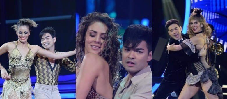As coreografias do casal foram marcadas por muita emoção e talento