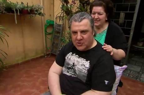 Gerson Brenner com a mulher, Marta Mendonça