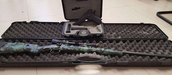 PF encontrou uma pistola .45 e um fuzil 762 na casa de enteada de Jucá