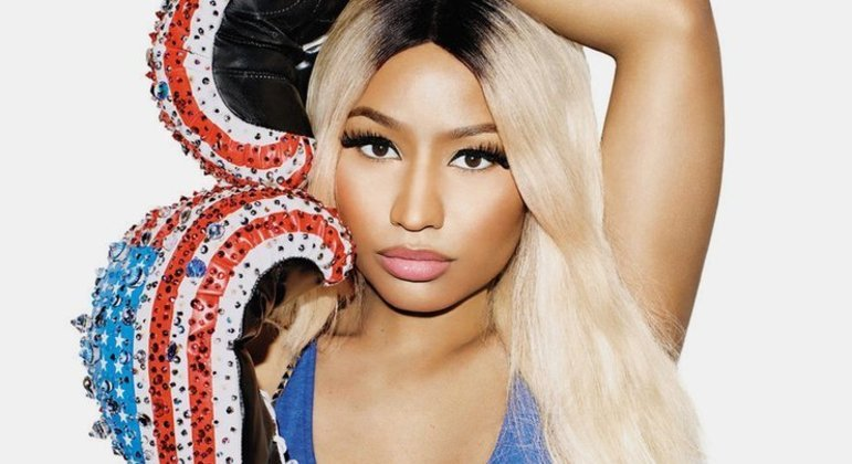 A cantora e rapper  Nicki Minaj