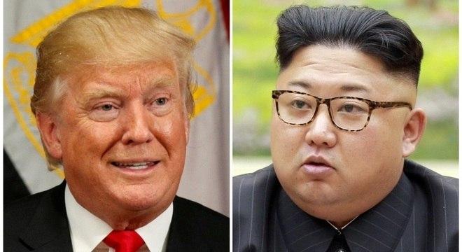Trump e Kim Jong-un trocaram fortes ameaças e insultos nos últimos meses