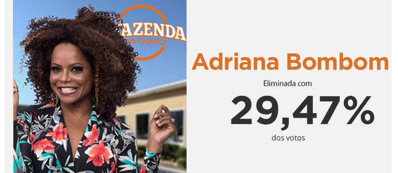 Adriana Bombom enfrentou a segunda Roça dessa edição contra Flávia Viana