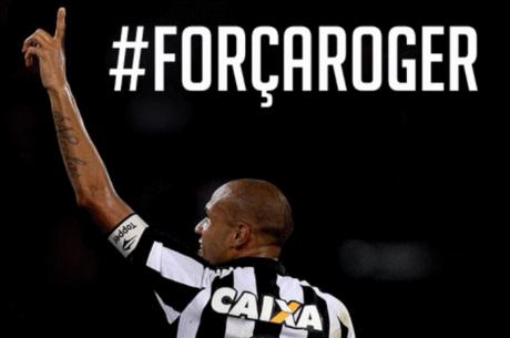 Botafogo lançou hashtag de apoio ao atacante
