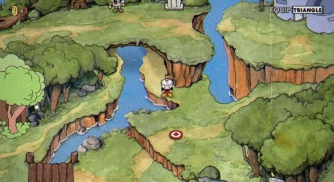 O jogo conta com um mapa estilo JRPG para escolher os próximos embates
