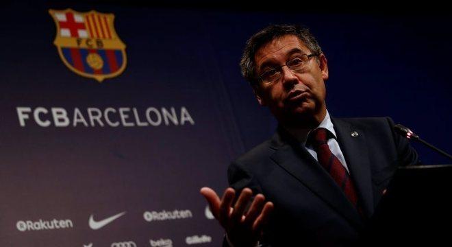 Presidente José Maria Bartomeu estava há seis anos à frente do Barcelona