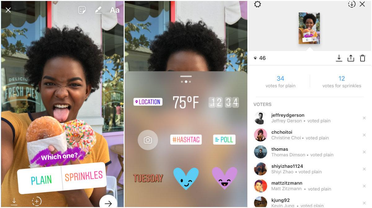 Instagram agora permite criação de enquetes no Stories!
