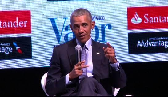 Obama chega hoje ao Brasil para palestra em São Paulo