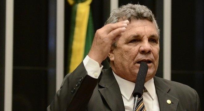 O deputado Alberto Fraga