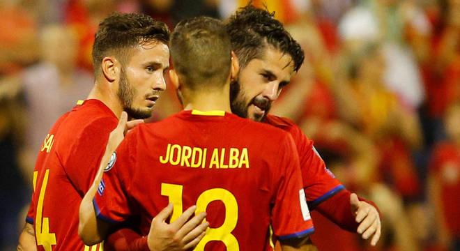 Espanha é mais uma seleção na Copa de 2018