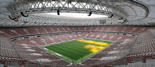 Estádio de Luzhniki, em Moscou, está pronto para a Copa do Mundo de 2018