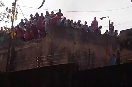 75 presos fugiram durante a rebelião na penitenciária