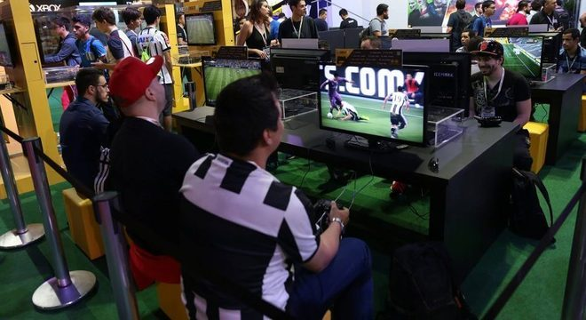 Brasil Game Show conta com amantes de todos os tipos de jogos