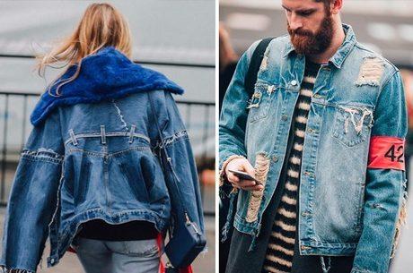 Jaquetas Jeans Inverno 2018 – Descubra os modelos masculinos e femininos que vão estar em alta