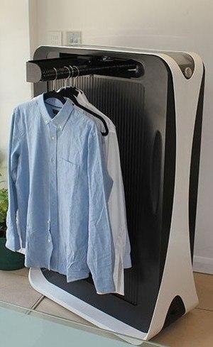 Effe, a máquina que passa roupa sozinha