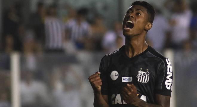 Bruno Henrique é hoje um dos principais jogadores do Santos no Brasileirão
