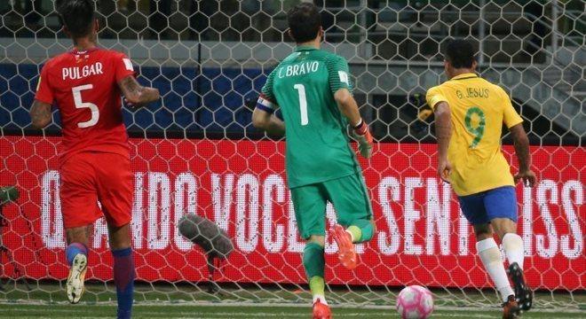Gabriel Jesus foi artilheiro da seleção brasileira com sete gols nas Eliminatórias