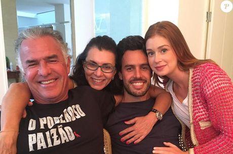 Marina, Xandinho e os sogros