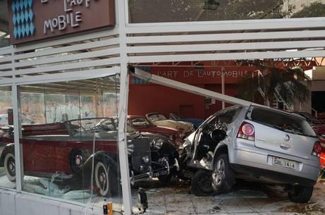 Prejuízo com acidente ainda não foi calculado