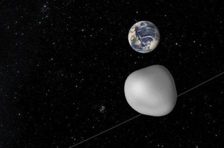 Rocha só poderá ser vista por observatórios europeus