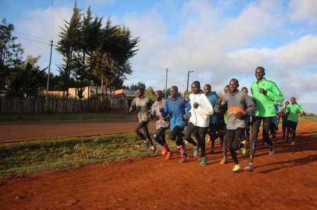 Os quenianos são os melhores corredores do mundo