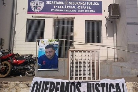 Edney morreu após ficar preso 18 horas numa jaula na delegacia