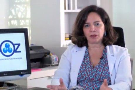 Maria Emília Gadelha Serra, da Aboz, fala sobre ozonioterapia