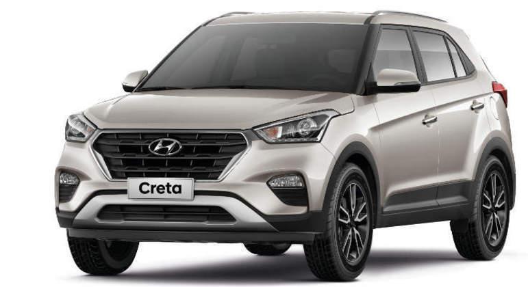 O Hyundai Creta é recheado de itens de série