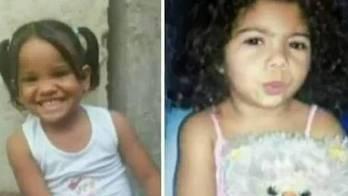 Meninas foram violentadas e mortas há quase um mês, diz polícia  (Reprodução/Record TV)
