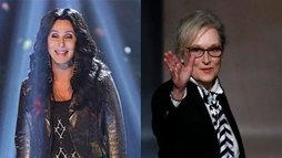 Reunião de estrelas! Cher atua ao lado de Meryl Streep em sequência de _Mamma Mia!_ ()