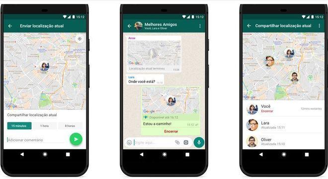 Recurso de localização em tempo real pode ajudar a manter sua segurança