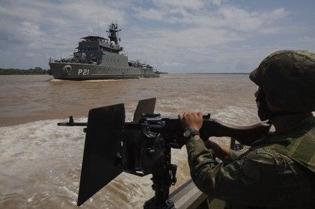 Rios amazônicos são algumas das rotas alternativas para o narcotráfico no Brasil