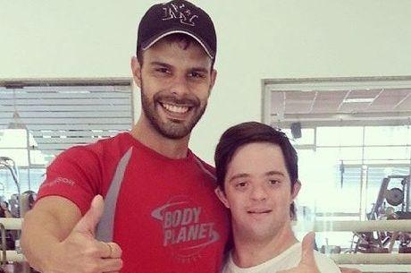 Daniel e Felipe no dia em que se conheceram
