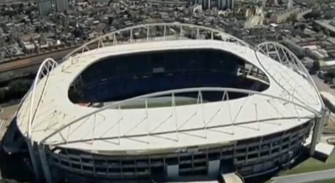 Estádio Nilton Santos, o Engenhão, foi vetato para a final da Taça Guanabara