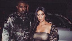 Kim Kardashian e Kanye West anunciam o nascimento da terceira filha ()