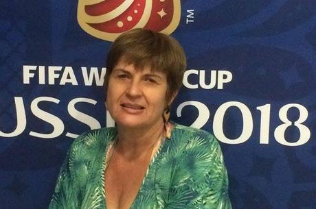Luzia é professora de braile em São Vicente