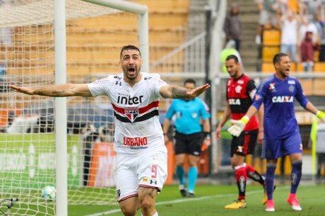 Gol de Pratto pelo São Paulo  levantou polêmica