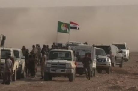 Forças do Iraque lançaram ofensiva para recapturar o último trecho de território iraquiano ainda nas mãos de extremistas