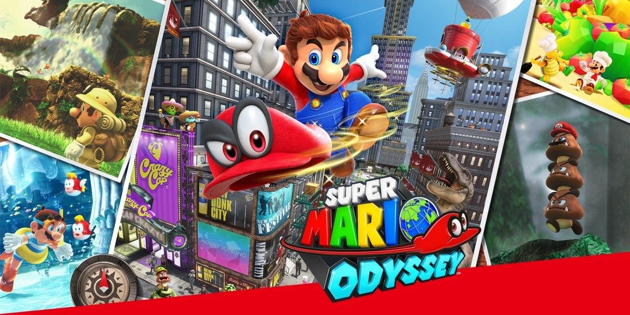 Super Mario Odyssey disponível hoje