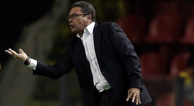 Após 5 meses no comando do Sport, Luxemburgo foi demitido nesta quinta-feira