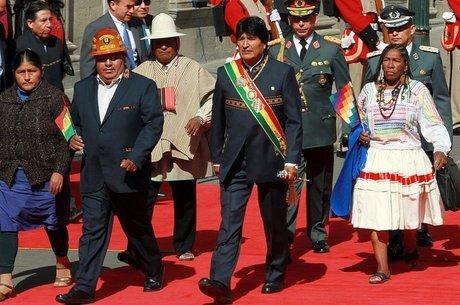 Morales está no poder na Bolívia há mais de 10 anos