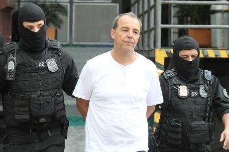 Cabral está preso em Benfica, no Rio de Janeiro