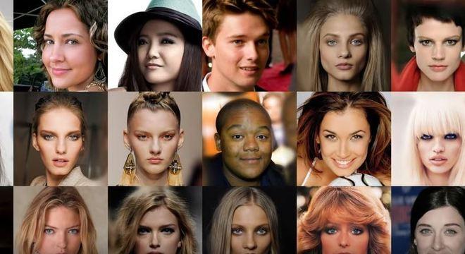 Reconhece essas celebridades? Elas não existem