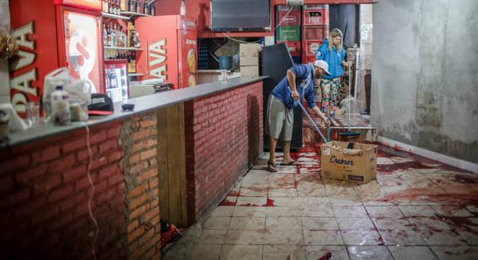 o todo, 17 pessoas morreram em ataques nas cidades de Osasco e Carapicuíba