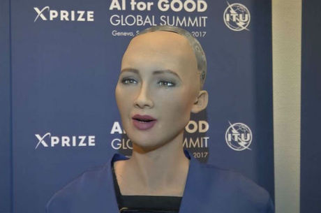 Sophia foi revelada na última semana em uma feira de tecnologia em Riad