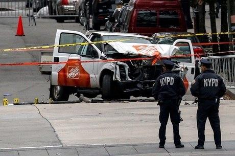 Ataque em Nova York, nos EUA, deixou oito pessoas mortas